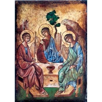 Icona dipinta Trinità di Rublev