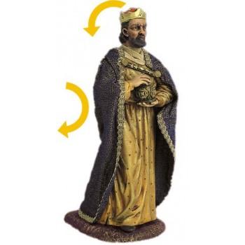 Statua del re magio bianco