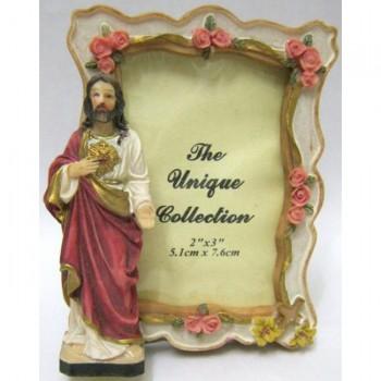 Portafoto Gesù o Madonna Miracolosa