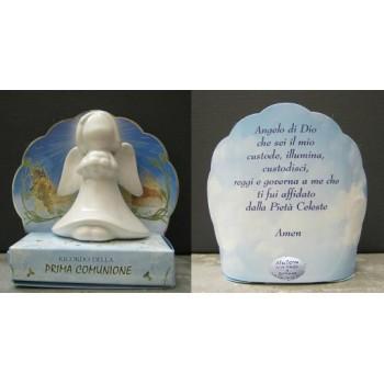 Angelo ceramica - ricordo Prima Comunione