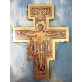 Croce San Damiano, Bordo Dorato