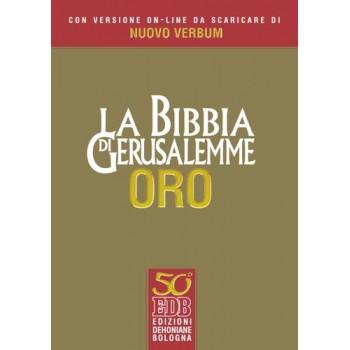 Bibbia Gerusalemme edizione Oro con versione online